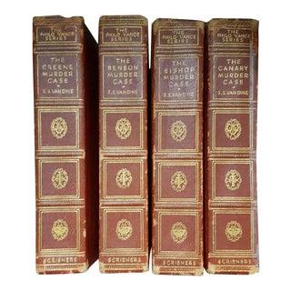 Vintage Philo Vance Series Books- Set of 4