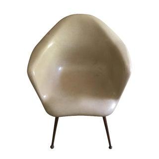 Chromcraft Mid-Century Modern Fiberglass Chair