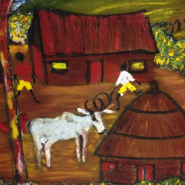 Original African Painting - Image 3 of 8