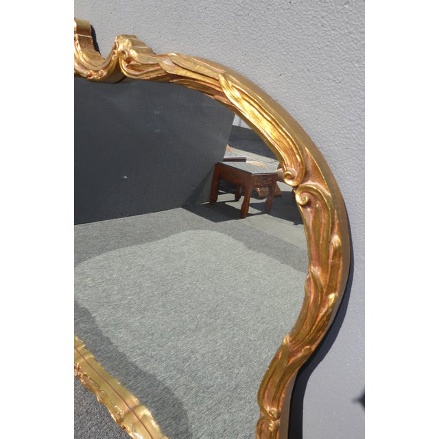 Vintage French Louis XVI Style Wall Mirror - Image 8 of 11