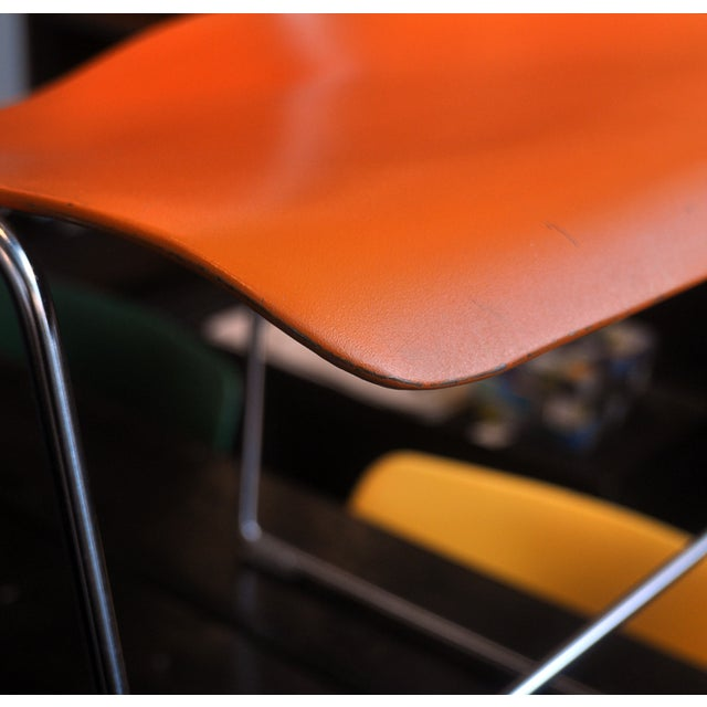 Orange David Rowland 40/4 Chairs - 4 - Image 6 of 7