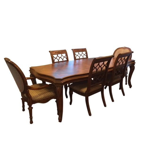Drexel Heritage Dining Room Set: Drexel Heritage Talavera Dining Set - Set Of 7