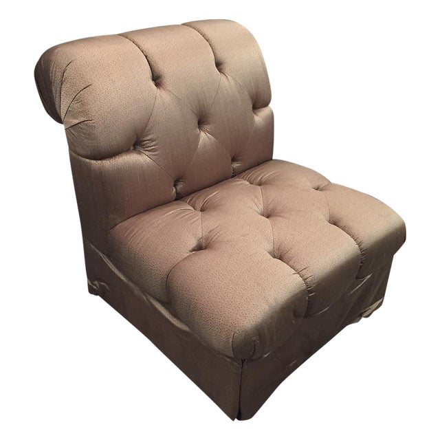 Image of Marge Carson Tufted Zelda Chair