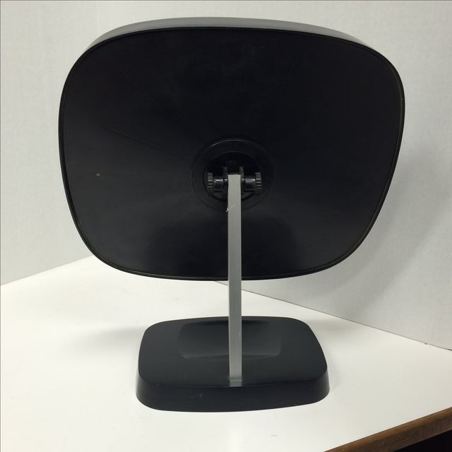 Midcentury Modern Danish Articulating Table Mirror - Image 5 of 8