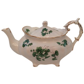 Vintage Lucky Shamrock Tea Pot