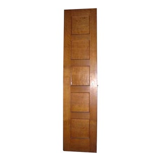 Tiger Oak Five Panel Door