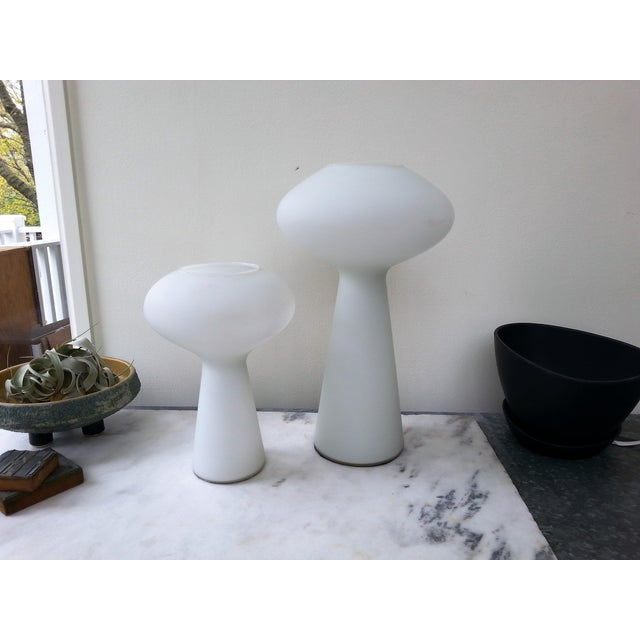 MidCentury Mod Mushroom Lamps, Lisa Johansson-Pape - Image 2 of 11
