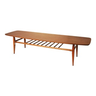 Mid Centry Modern Lane Surfboard Coffee Table