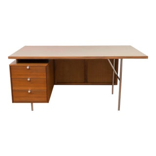 George Nelson Walnut Desk