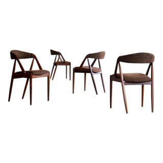 Kai Kristiansen Model 31 Teak Dining Chairs - Set of 4