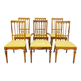 Vintage Mid-Century Modern Dining Chairs - Set of 6
