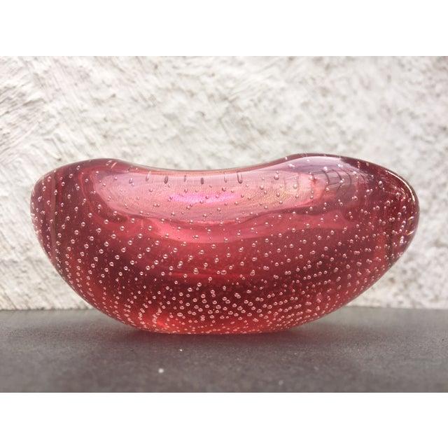 Archimede Seguso Glass Bowl Murano - Image 4 of 9