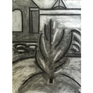 1970s Charcoal Plant by G. Turner