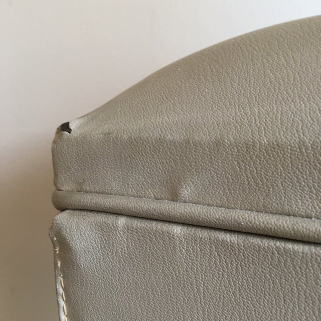 Mid-Century Sewing Stool with Storage - Image 11 of 11