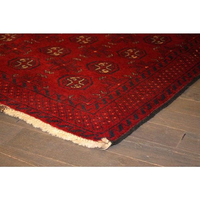 Image of Apadana - Vintage Red Baluch Rug - 3' X 5'