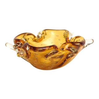 Gorgeous Freeform Murano Dish or Bowl, 1960s, Italy