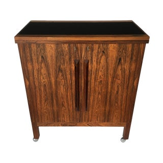 Torbjorn Afdal for Bruksbo Rosewood Bar Cabinet