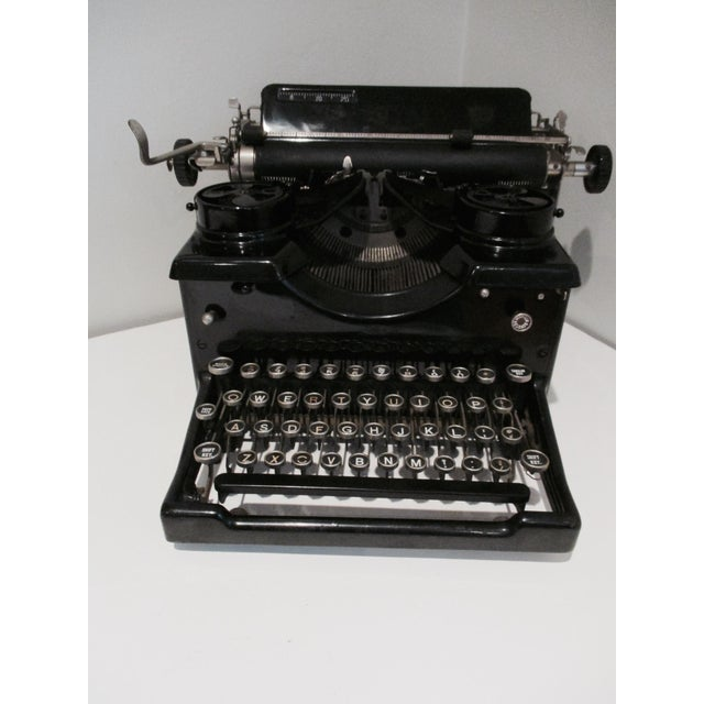 Image of Vintage Royal Typewriter With Glass Side Panels