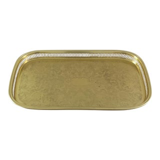 Brass Plated Tray