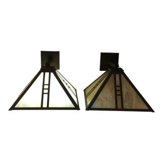 Custom Eagle Lodge Collection Sconces - A Pair