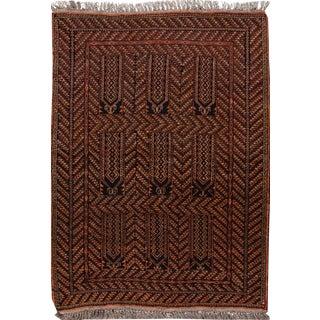 "Apadana - Vintage Persian Balouch Rug, 3'2"" x 5'2"""