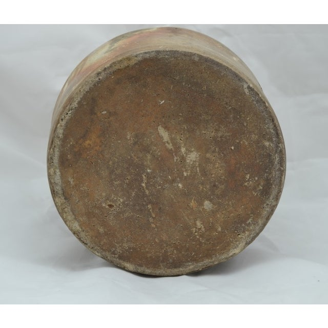 Image of Antique Salt Glazed Stoneware Beehive Jug