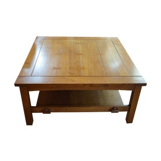 Stickley Butterfly Joint Cocktail Table
