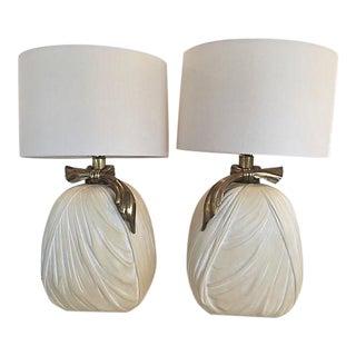 Ribbon Lamps by Chapman - Pair