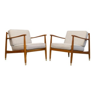 Folke Ohlsson for Dux Lounge Chairs - A Pair