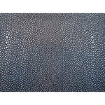 Image of Stingray Embossed Shagreen Charcoal Tray