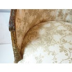Image of French Giltwood Bergere Chair