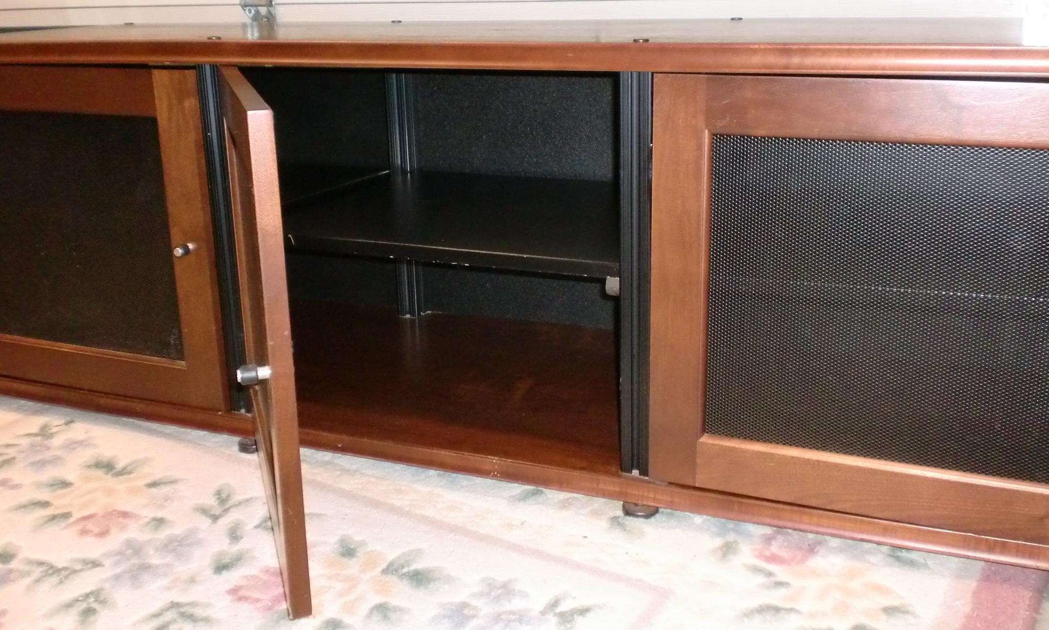 Image Of Salamander Media Cabinet / Storage Credenza