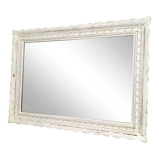 Vintage Bassett Shabby Chic Mirror - Image 1 of 7