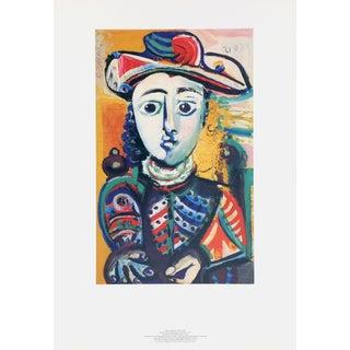 """Pablo Picasso """"Jeuene Femme Assise Dans Un Fauteuil"""" Lithograph"""