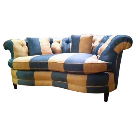 Image of British Colonial Regina Loveseat