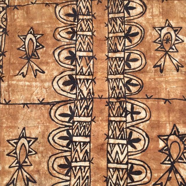 Tapa Cloth Wall Hanging - Image 4 of 10