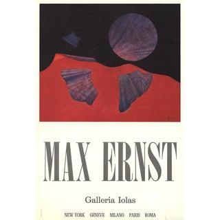 """Max Ernst """"Galleria Iolas"""" Poster"""