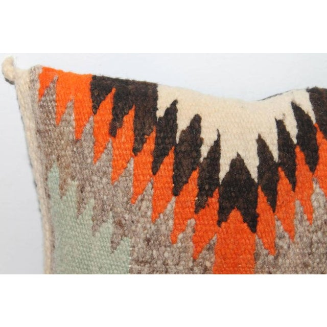 Small Navajo Weaving Eye Dazzler Pillow - Image 5 of 5