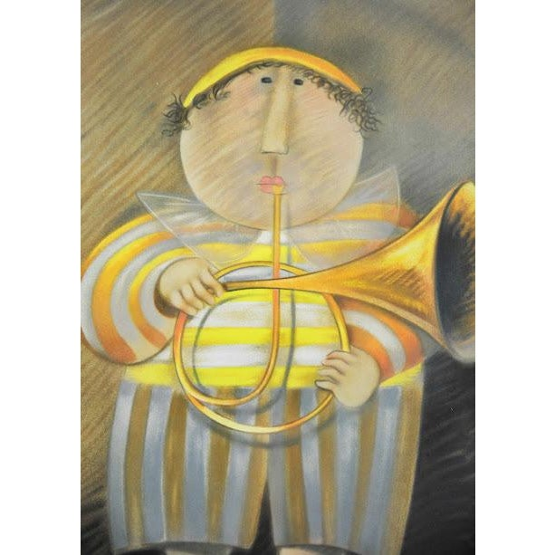 "Signed & Numbered Lithograph ""French Horn Player"" by Graciela Rodo Boulanger - Image 4 of 9"