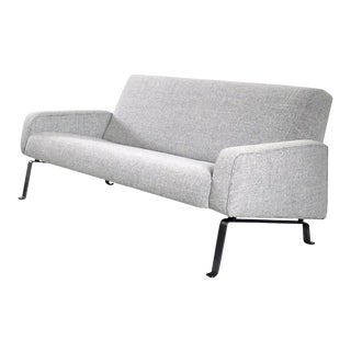 Rare Three-Seat Sofa Designed by Joseph-André Motte for Artifort, 1955