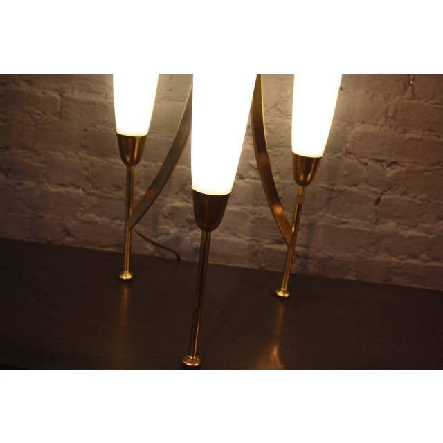 1960s American Modern Cased Glass Lamp - Image 2 of 6