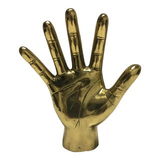 "Brass ""High Five"" Hand"