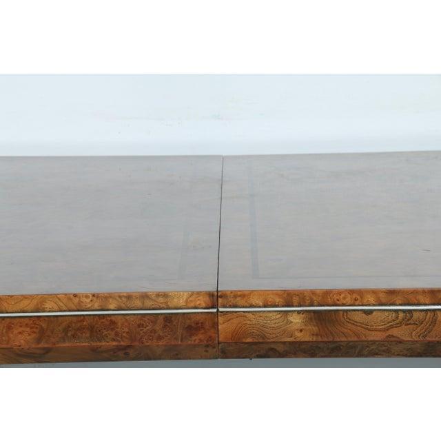 Master Burlwood Dining Table - Image 5 of 11
