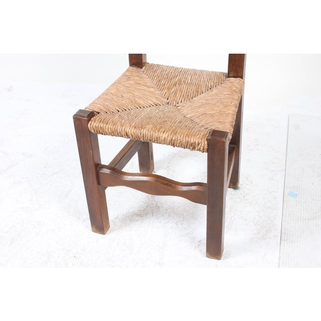Image of French Walnut Dining Chairs - Set of 6