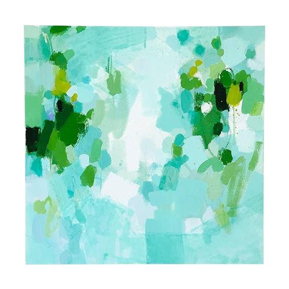Katherine Jury - Green Botanical I Painting - Image 1 of 4