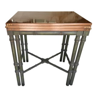 Faux Bamboo Drexel Et Cetera Server Console Table