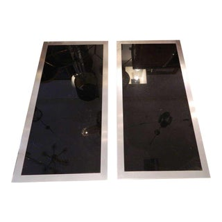 Pair of Huge Italian Coffee Table by Mario SABOT