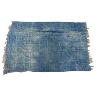 Vintage African Mossi Indigo Throw