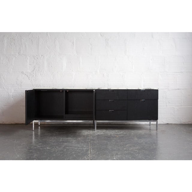 Knoll Marble Top Credenza - Image 3 of 4