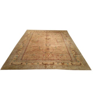 Traditional Hand Made Knotted Rug - 9′ × 12′
